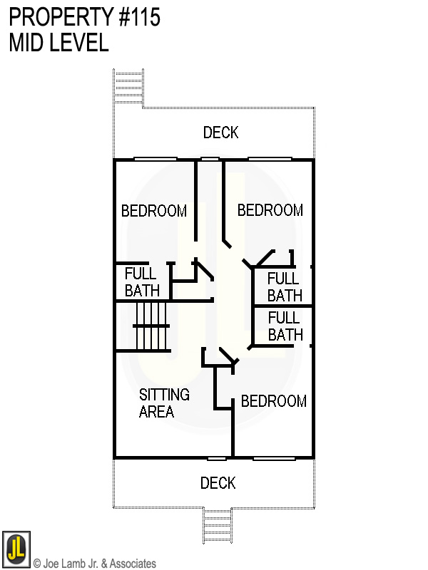 Floorplan: 115 Mid Level