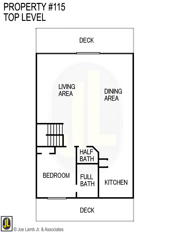 Floorplan: 115 Top Level
