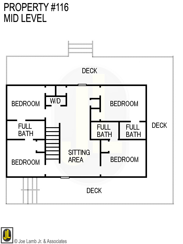 Floorplan: 116 Mid Level