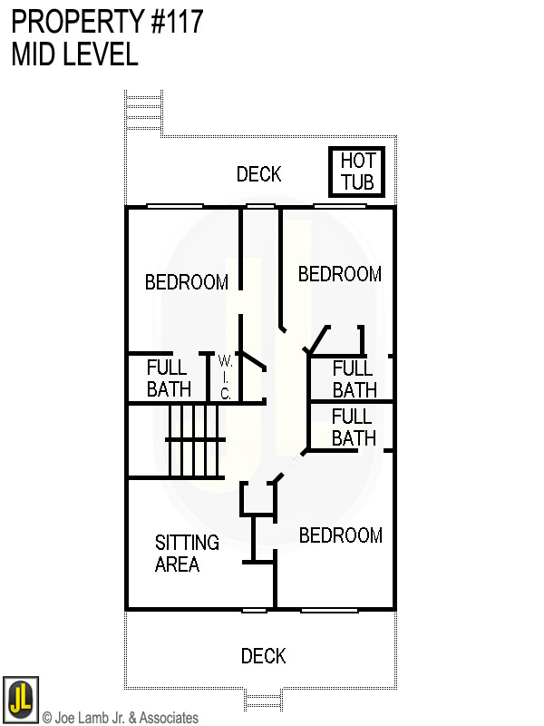 Floorplan: 117 Mid Level Updated