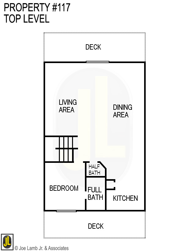 Floorplan: 117 Top Level