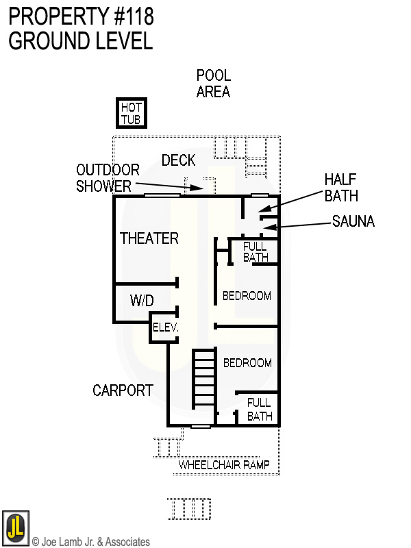 Floorplan: 118 Ground Level