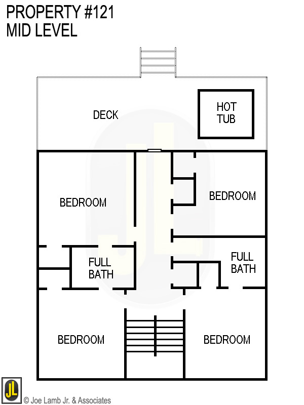 Floorplan: 121 Mid Level