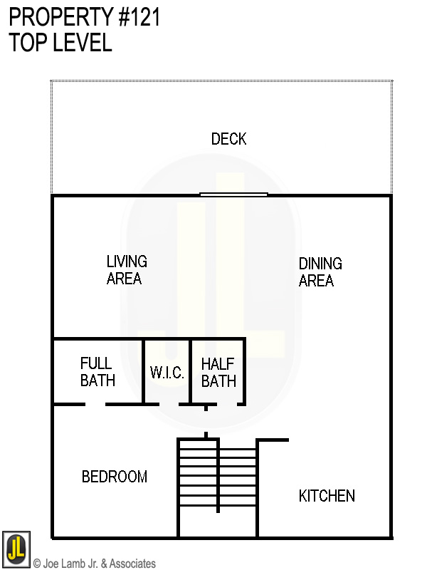 Floorplan: 121 Top Level