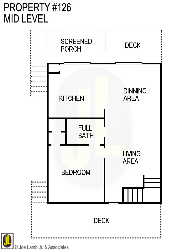 Floorplan: 126 Mid Level