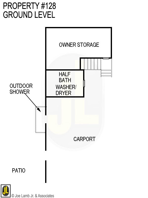 Floorplan: 128 Ground Level