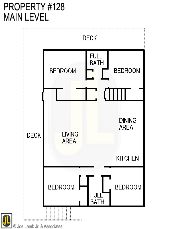 Floorplan: 128 Main Level