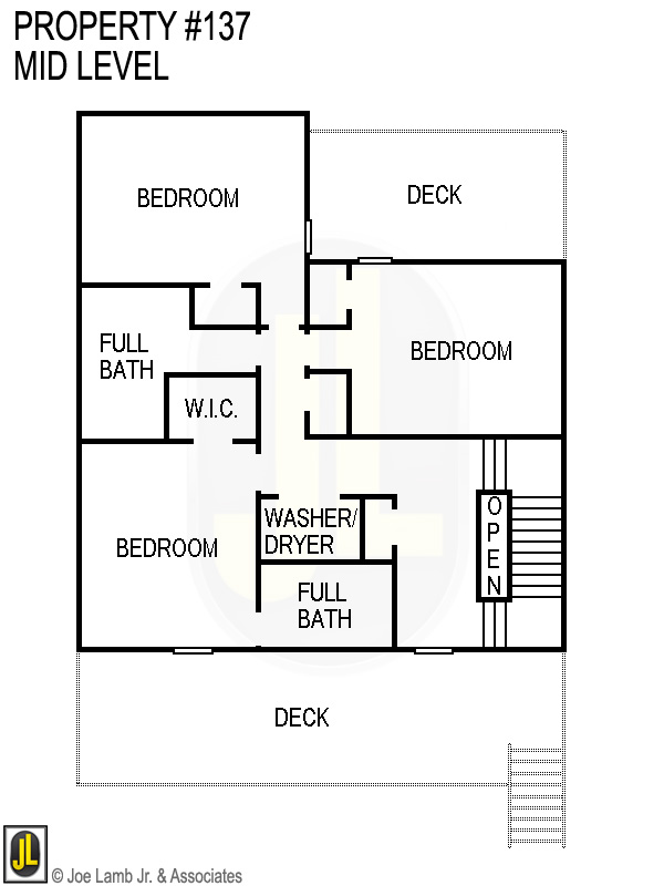 Floorplan: 137 Mid Level
