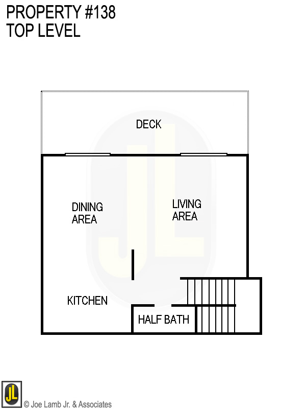 Floorplan: 138 Top Level