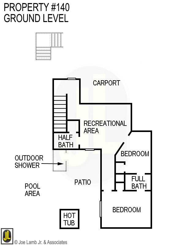 Floorplan: 140 Ground Level