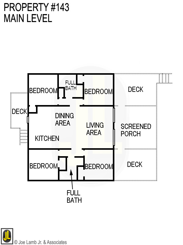 Floorplan: 143 Main Level