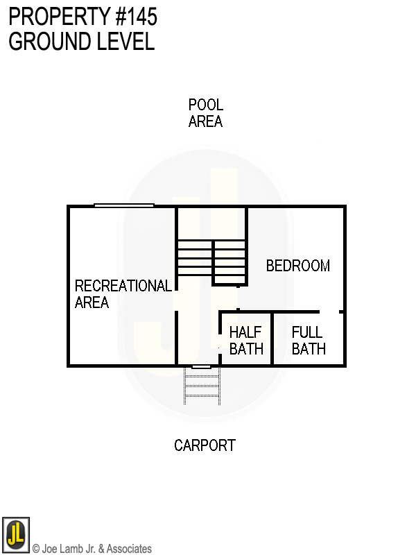 Floorplan: 145 Ground Level