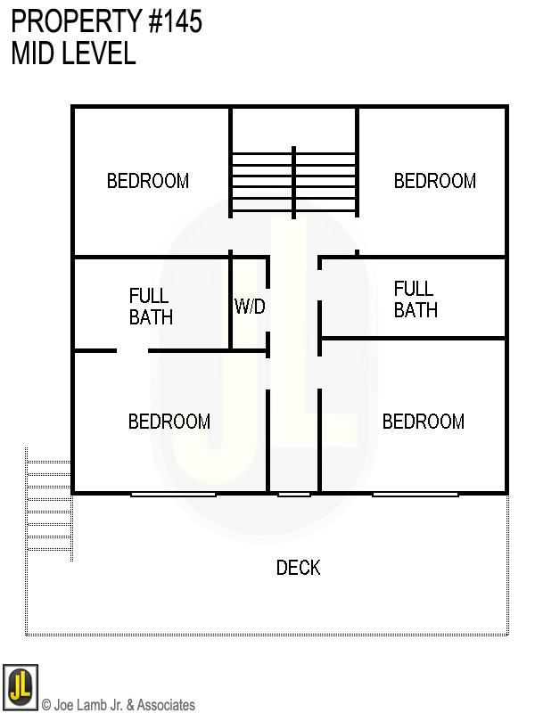 Floorplan: 145 Mid Level