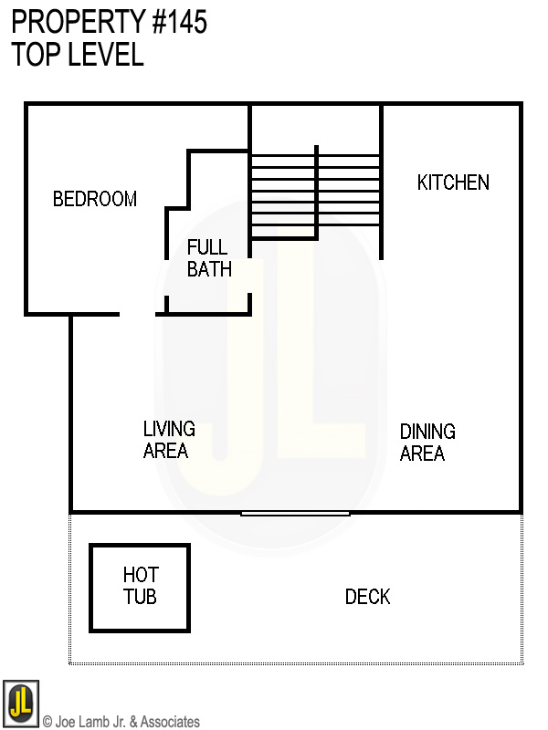 Floorplan: 145 Top Level