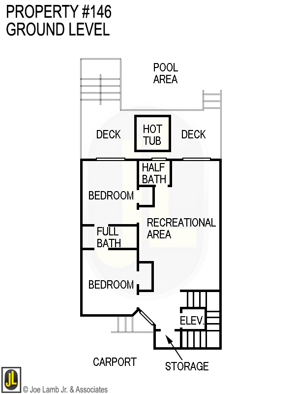 Floorplan: 146 Ground Level