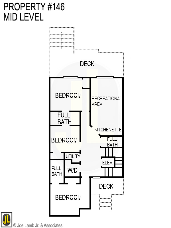Floorplan: 146 Mid Level