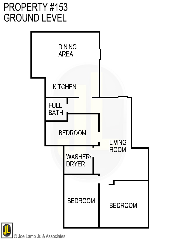 Floorplan: 153 Ground Level