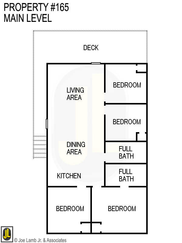 Floorplan: 165 Main Level