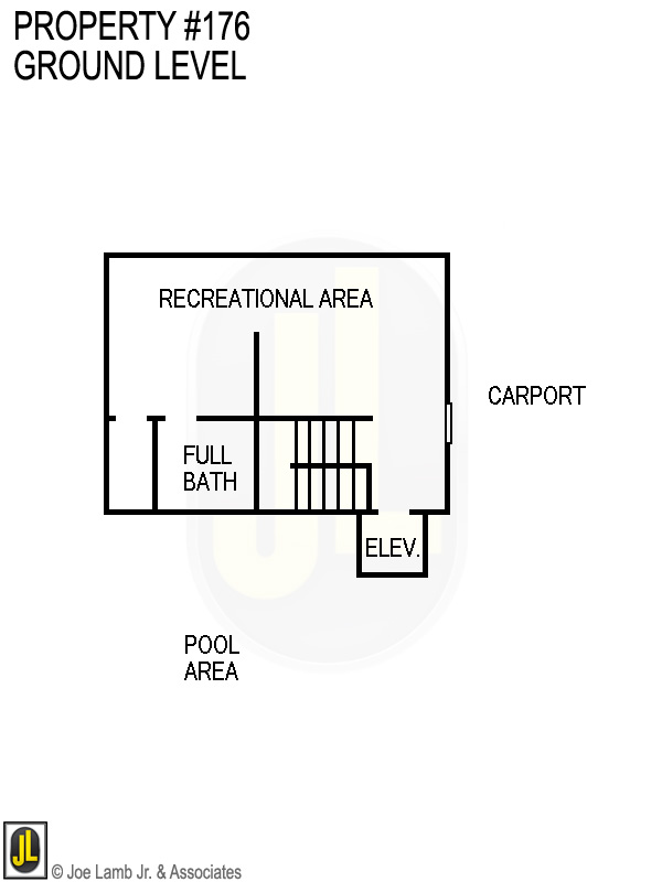 Floorplan: 176 Ground Level