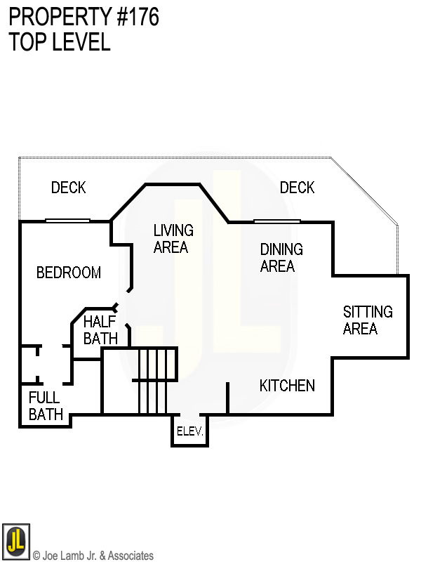 Floorplan: 176 Top Level