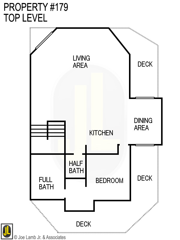 Floorplan: 179 Top Level