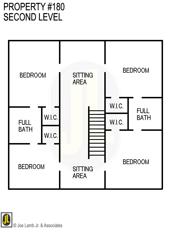 Floorplan: 180 Second Level