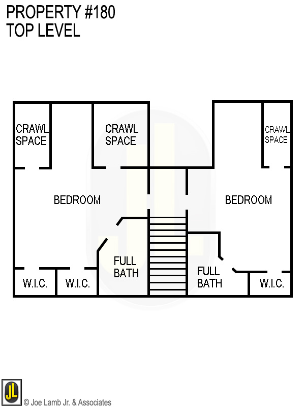 Floorplan: 180 Top Level