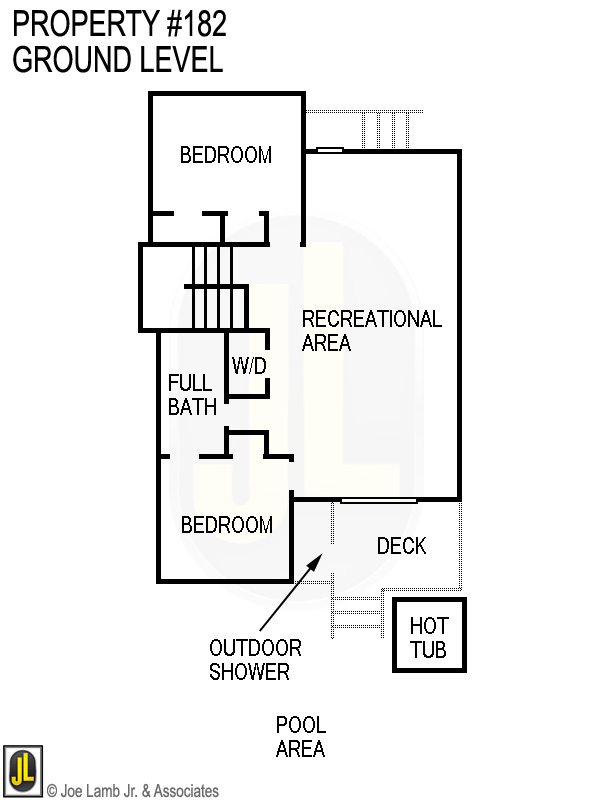 Floorplan: 182 Ground Level