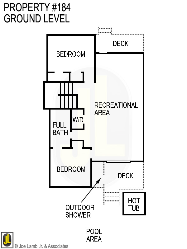 Floorplan: 184 Ground Level