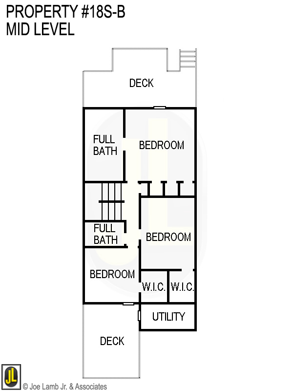 Floorplan: 18s-B Mid Level