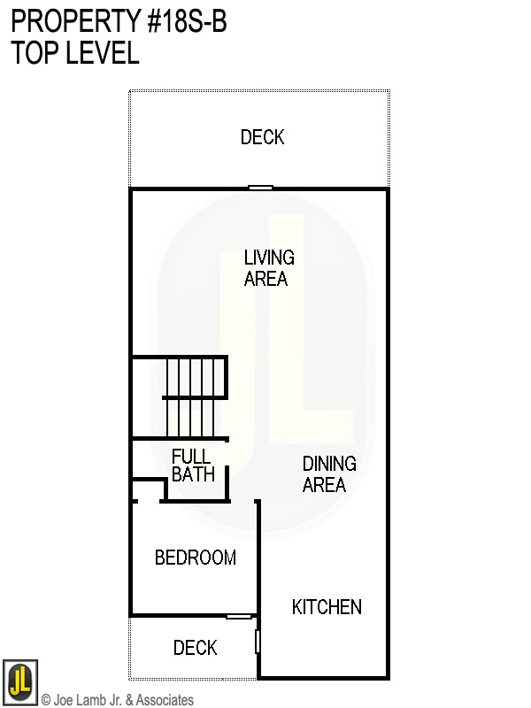 Floorplan: 18s-B Top Level