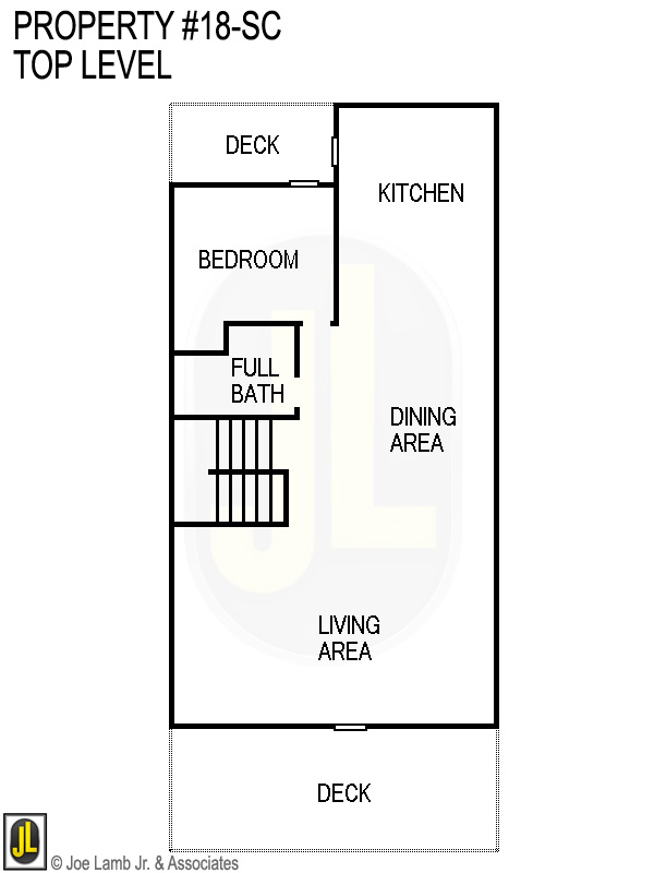 Floorplan: 18sc Top Level