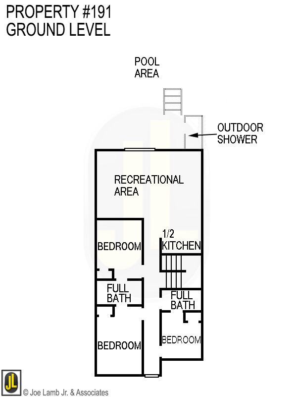 Floorplan: 191 Ground Level