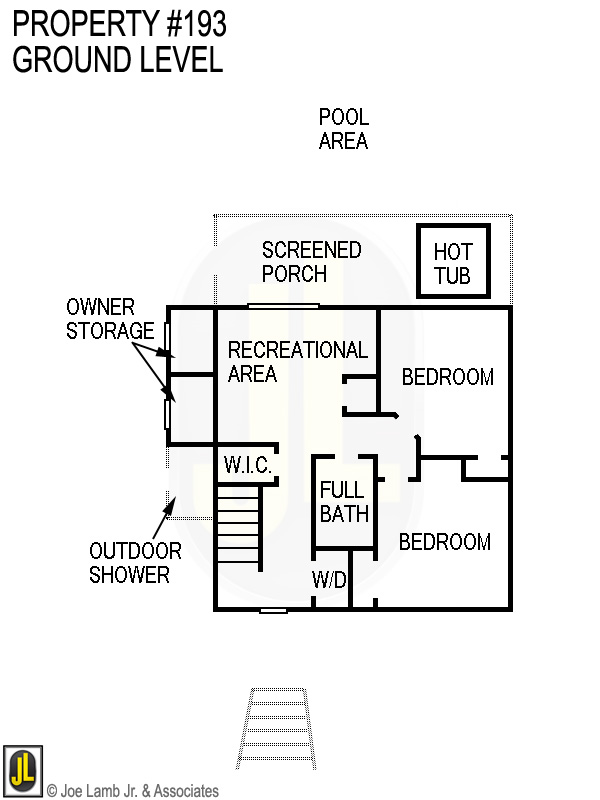 Floorplan: 193 Ground Level