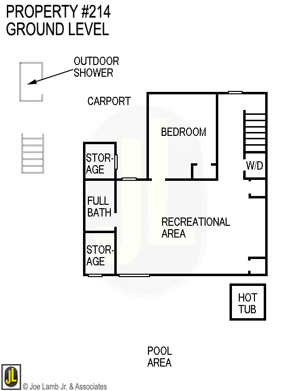 Floorplan: 214 Ground Level