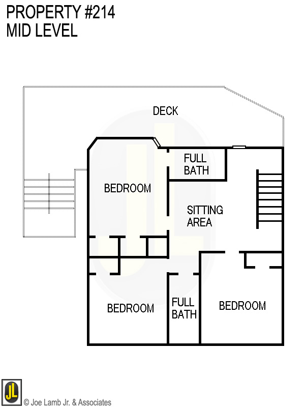 Floorplan: 214 Mid Level