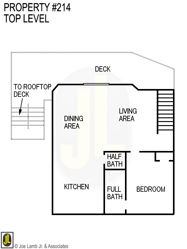 Floorplan: 214 Top Level