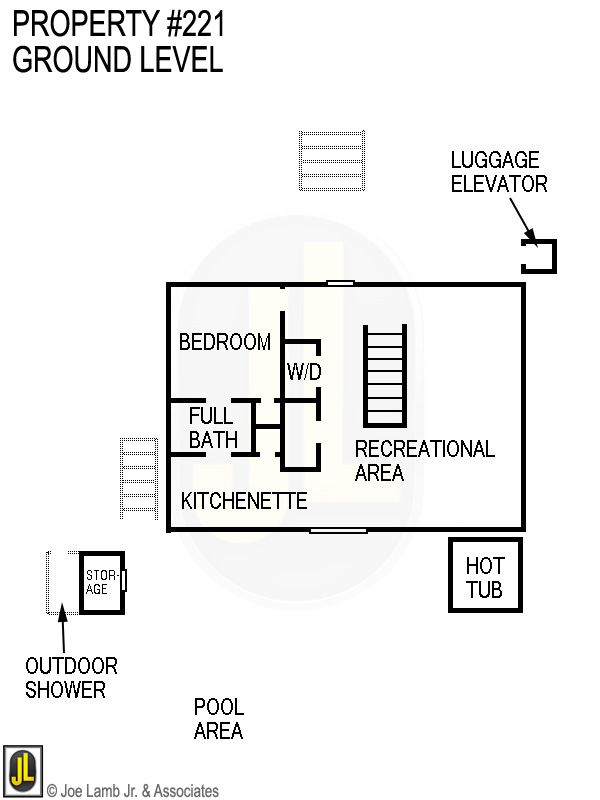Floorplan: 221 Ground Level