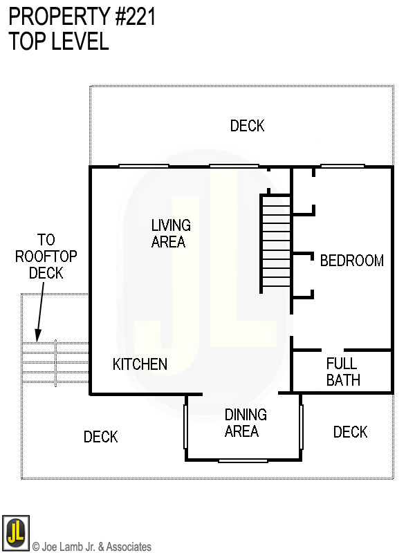 Floorplan: 221 Top Level