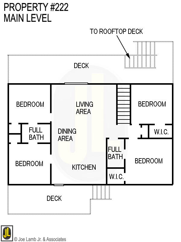 Floorplan: 222 Main Level