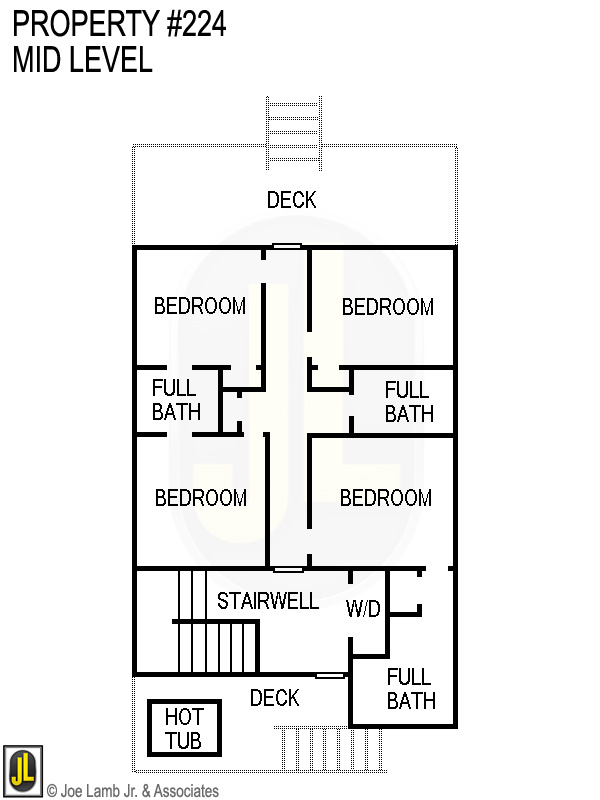 Floorplan: 224 Mid Level