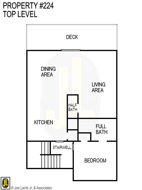 Floorplan: 224 Top Level