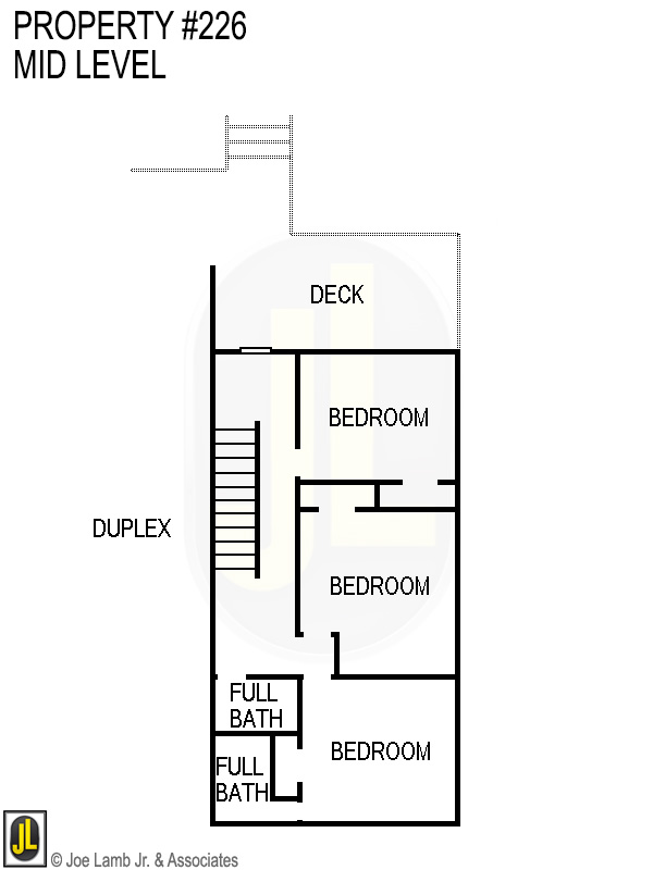 Floorplan: 226 Mid Level