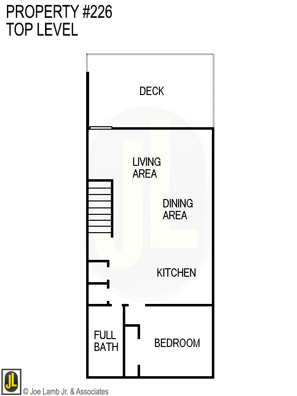 Floorplan: 226 Top Level