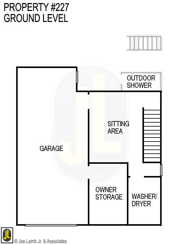 Floorplan: 227 Ground Level