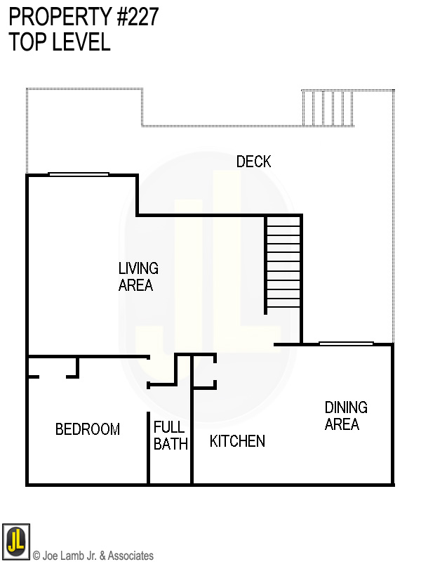 Floorplan: 227 Top Level