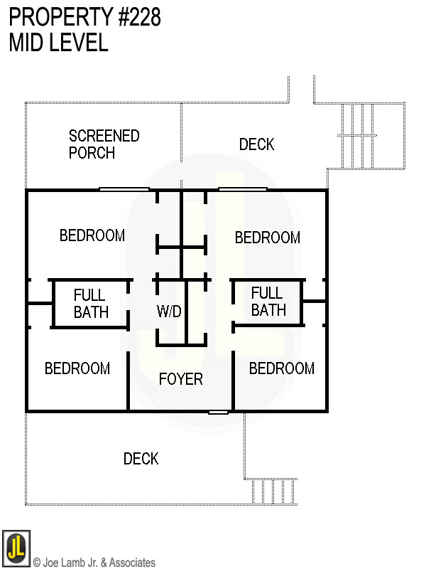 Floorplan: 228 Mid Level