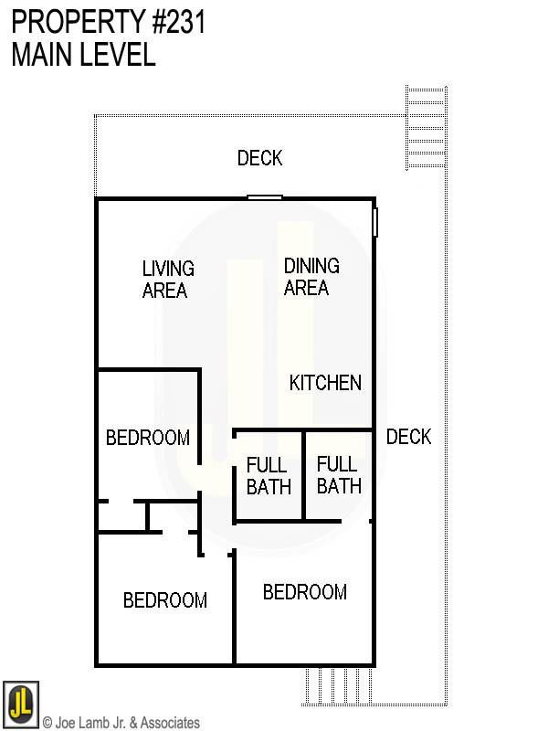Floorplan: 231 Main Level