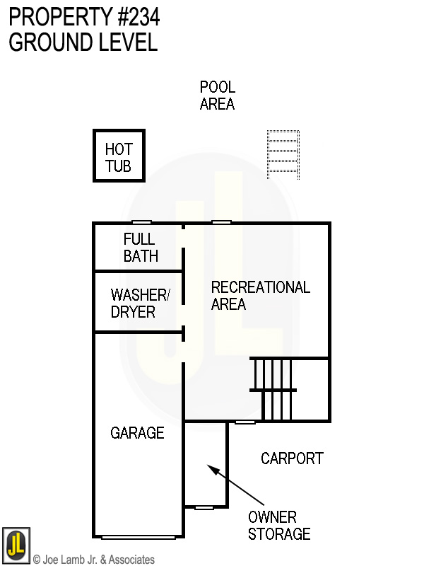 Floorplan: 234 Ground Level