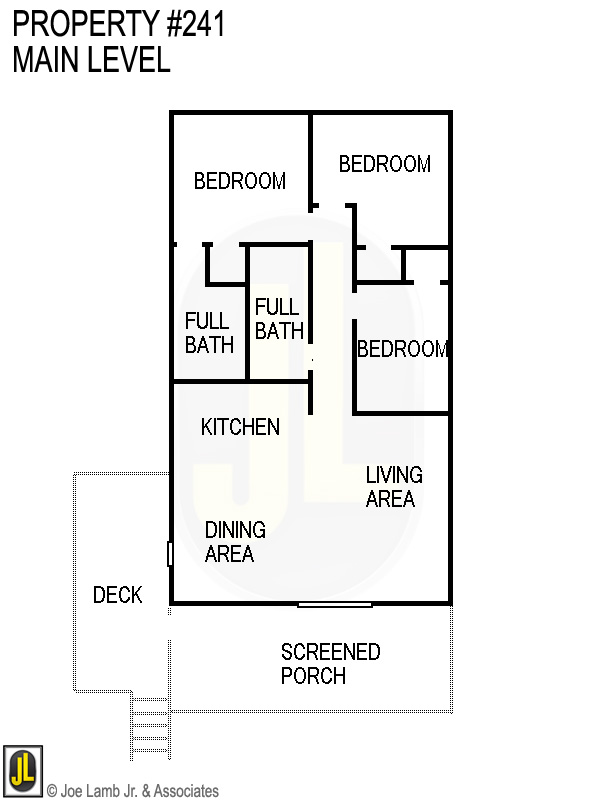 Floorplan: 241 Main Level